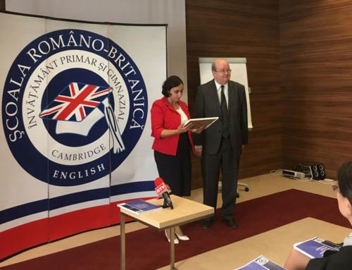 """Şcoala Româno-Britanică a lansat """"Ghidul pentru învăţătorii care inspiră"""""""