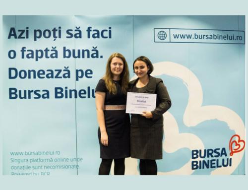 Asociația Româna a Tinerilor cu Inițiativa finalistă în Campionatul de Bine