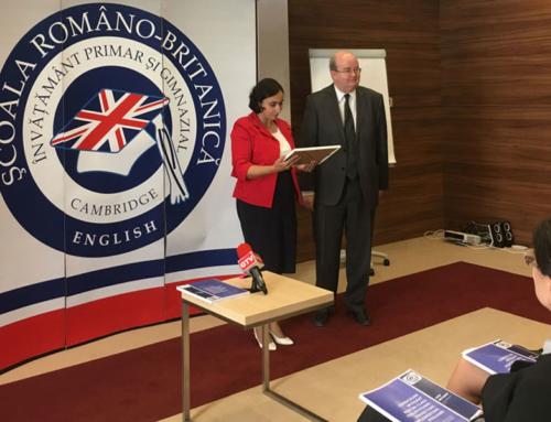 """Indiscret.ro-Şcoala Româno-Britanică a lansat """"Ghidul pentru învăţători care inspiră"""""""